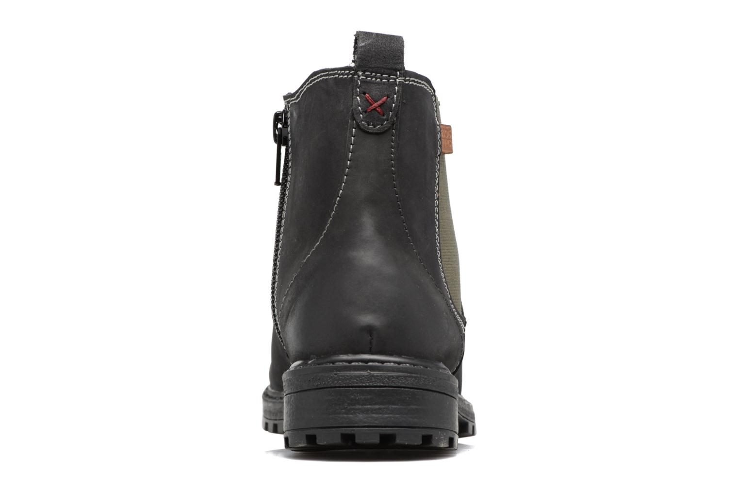 Ankle boots Gioseppo 41553 Black view from the right