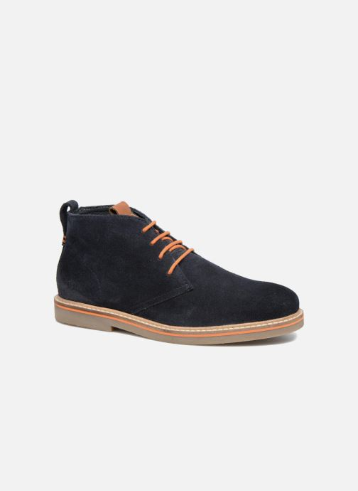 Chaussures à lacets Gioseppo 42253 Bleu vue détail/paire