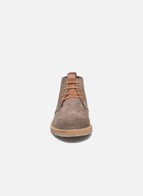 Schnürschuhe Gioseppo 42253 braun schuhe getragen
