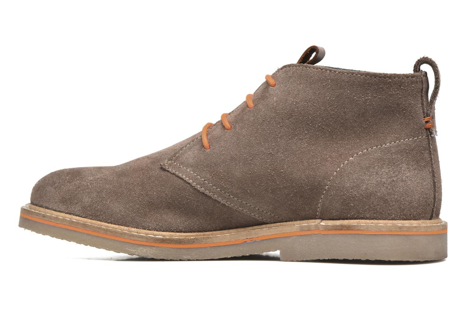 Lace-up shoes Gioseppo 42253 Brown front view