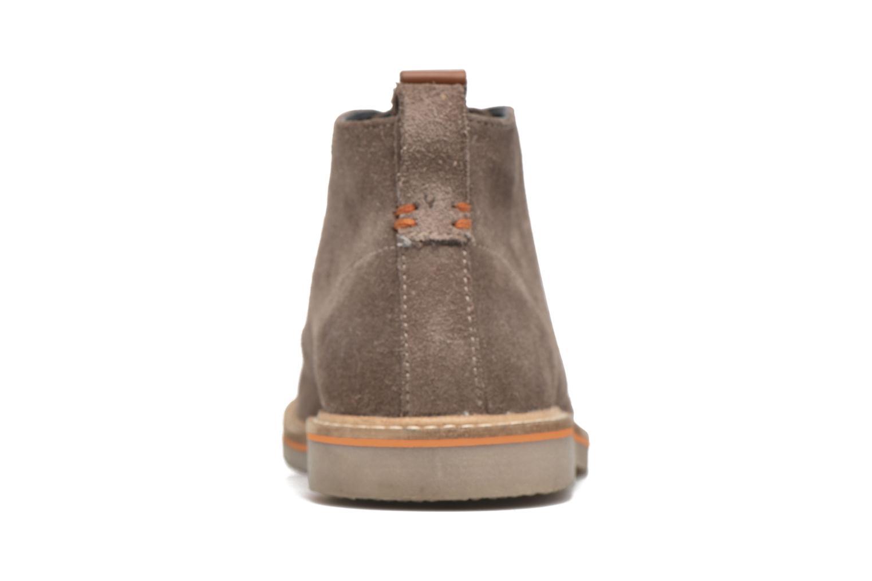 Zapatos con cordones Gioseppo 42253 Marrón vista lateral derecha