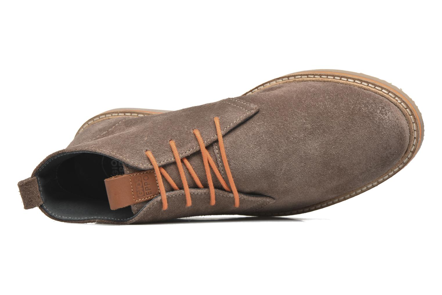 Lace-up shoes Gioseppo 42253 Brown view from the left