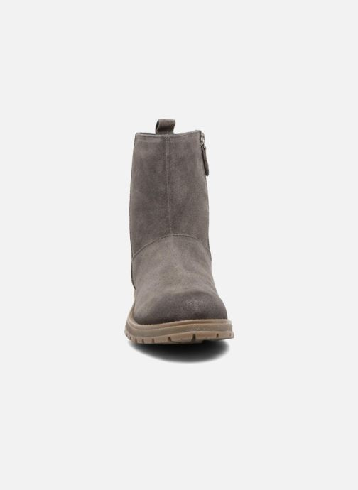 Stiefel Gioseppo 41582 grau schuhe getragen