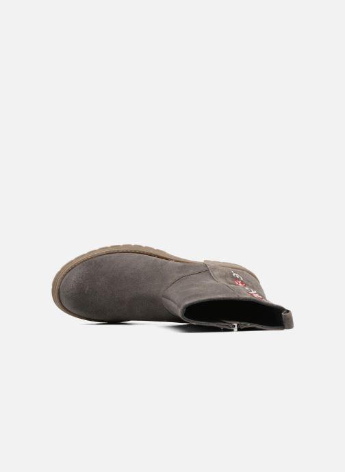 Stiefel Gioseppo 41582 grau ansicht von links