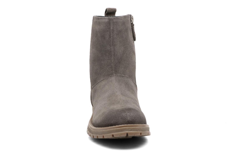 Bottes Gioseppo 41582 Gris vue portées chaussures