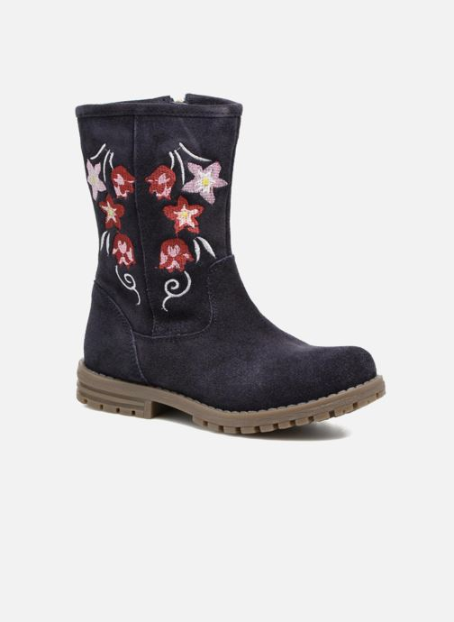 Boots & wellies Gioseppo 41581 Blue detailed view/ Pair view