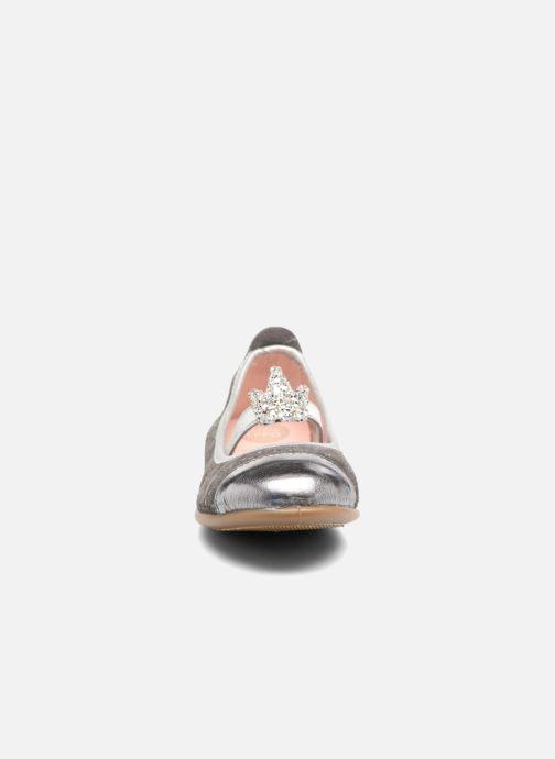 Ballerines Gioseppo 41623 Gris vue portées chaussures