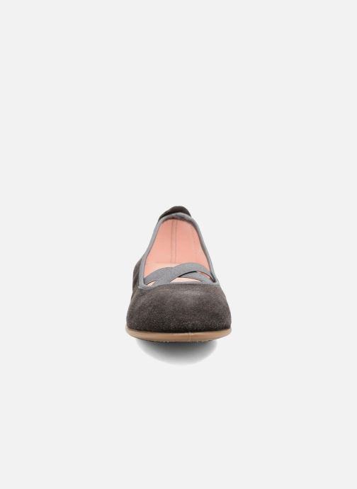 Ballerines Gioseppo 41621 Gris vue portées chaussures