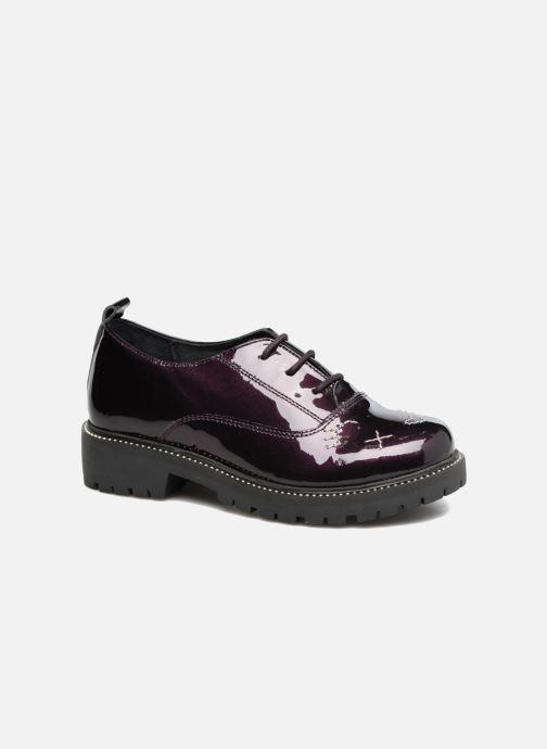 Snøresko Gioseppo 41567 Lilla detaljeret billede af skoene