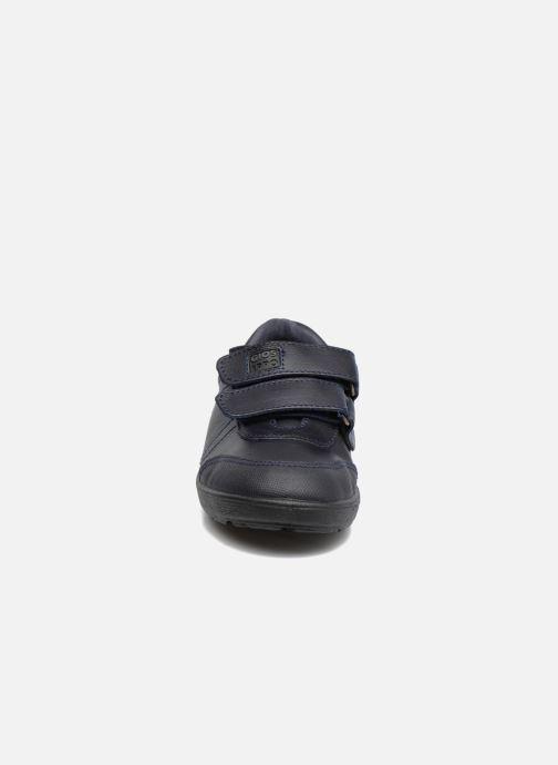 Chaussures à scratch Gioseppo NEWTON Bleu vue portées chaussures