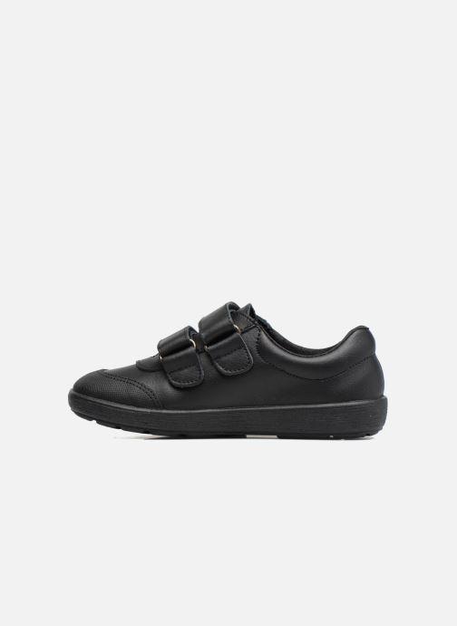 Zapatos con velcro Gioseppo NEWTON Negro vista de frente
