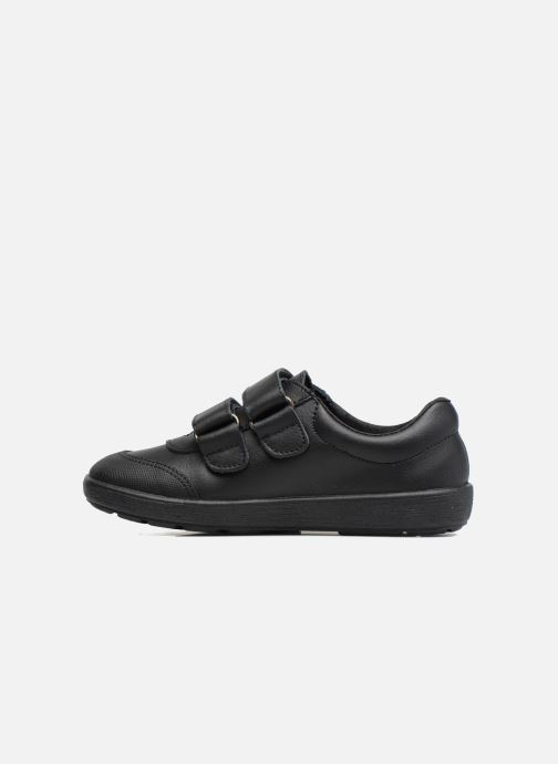 Velcro shoes Gioseppo NEWTON Black front view