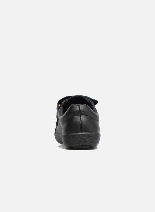 Zapatos con velcro Gioseppo NEWTON Negro vista lateral derecha