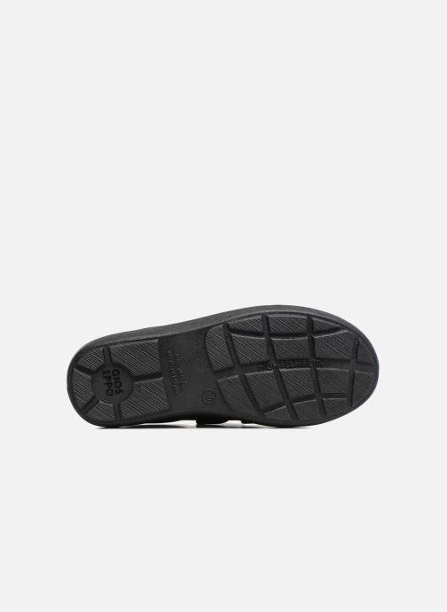 Zapatos con velcro Gioseppo NEWTON Negro vista de arriba