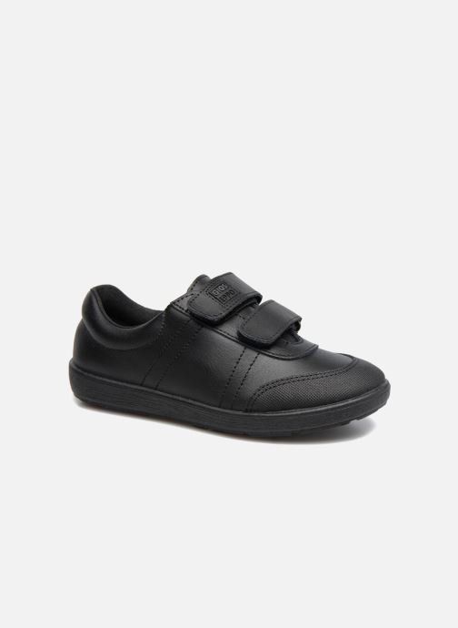 Velcro shoes Gioseppo NEWTON Black detailed view/ Pair view