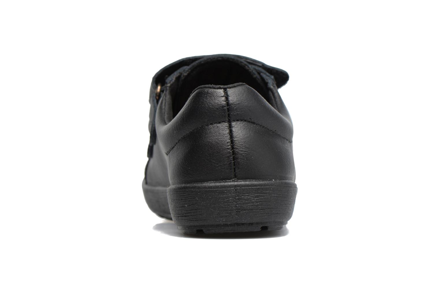 Velcro shoes Gioseppo NEWTON Black view from the right