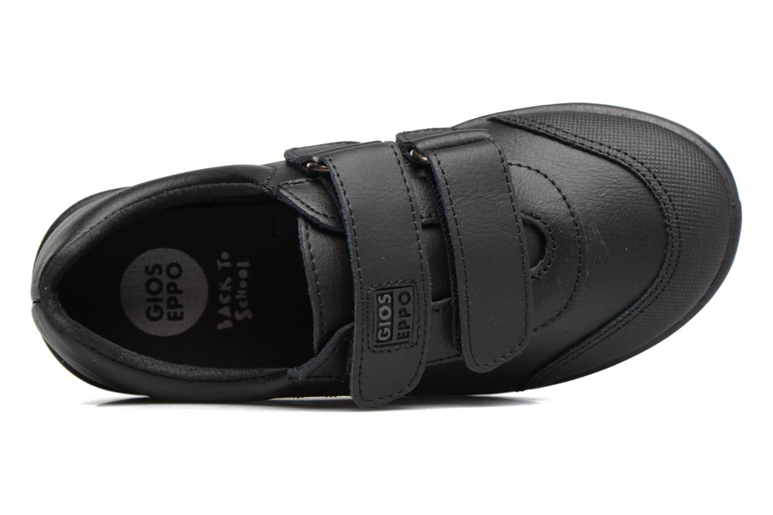 Velcro shoes Gioseppo NEWTON Black view from the left