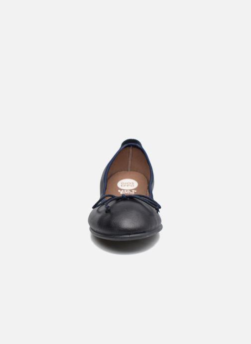Ballerines Gioseppo VOLTAIRE Bleu vue portées chaussures