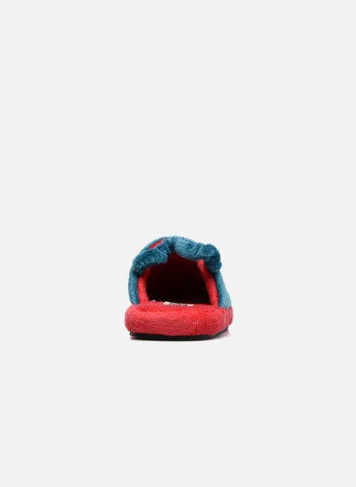 Pantuflas Gioseppo 40740 Azul vista lateral derecha
