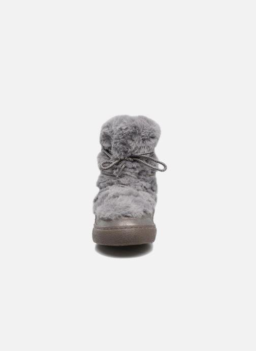 Bottes Gioseppo 41860 Gris vue portées chaussures
