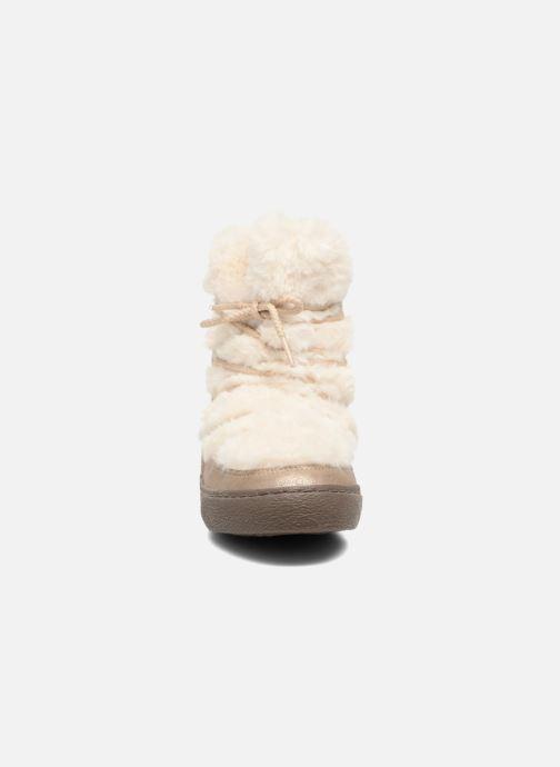 Bottes Gioseppo 41860 Or et bronze vue portées chaussures