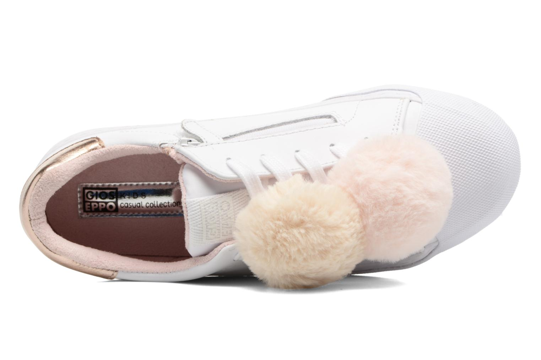 Sneaker Gioseppo 41875 weiß ansicht von links