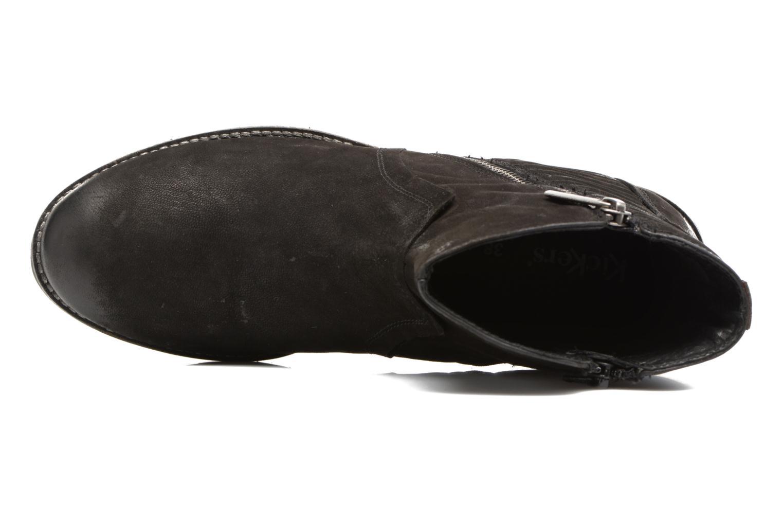 Bottines et boots Kickers ARMEN Noir vue gauche