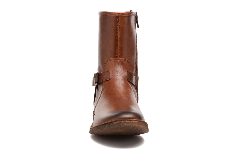 Boots en enkellaarsjes Kickers CREEK Bruin model