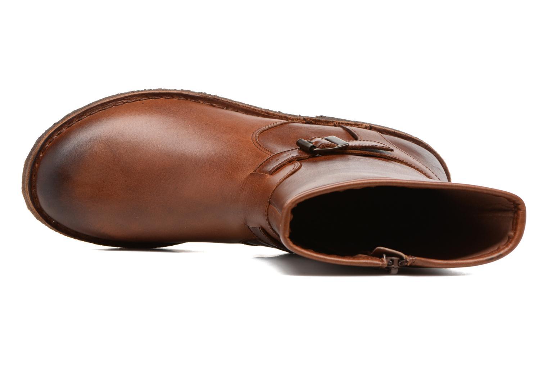 Boots en enkellaarsjes Kickers CREEK Bruin links