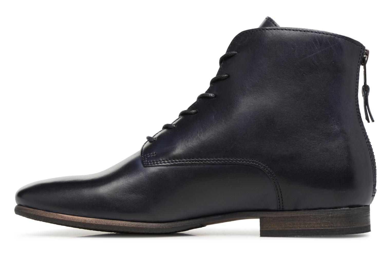Bottines et boots Kickers GAMEGIRL Bleu vue face