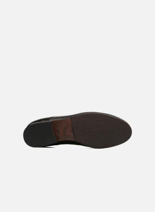 Schnürschuhe Kickers GAZELLAN schwarz ansicht von oben