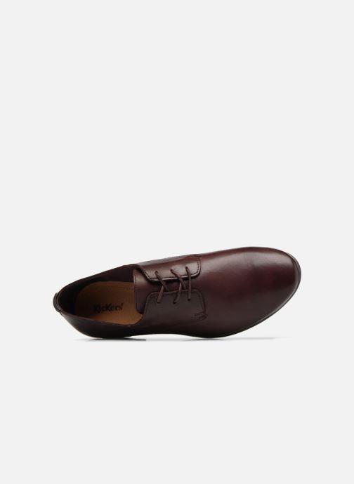 Kickers GAZELLAN (Bordeaux) Chaussures à lacets chez