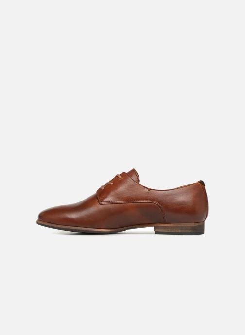 Zapatos con cordones Kickers GAZELLAN Marrón vista de frente