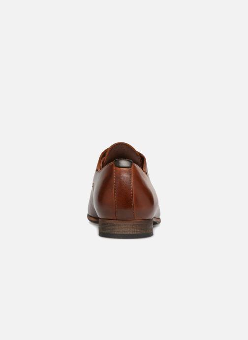 Zapatos con cordones Kickers GAZELLAN Marrón vista lateral derecha
