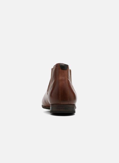 Stiefeletten & Boots Kickers GAZETTA braun ansicht von rechts
