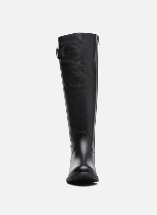 Bottes Kickers GRACIAS Noir vue portées chaussures