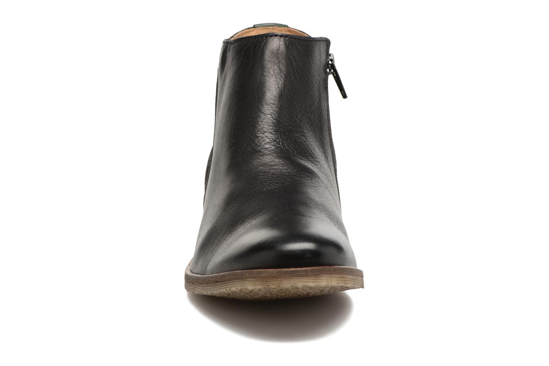 Bottines et boots Kickers LOWER Noir vue portées chaussures