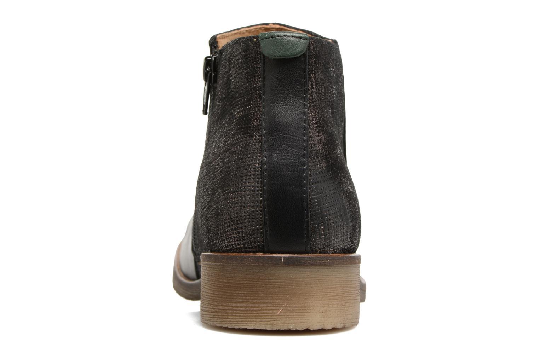 Bottines et boots Kickers LOWER Noir vue droite