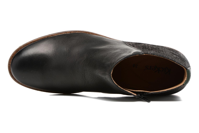 Bottines et boots Kickers LOWER Noir vue gauche