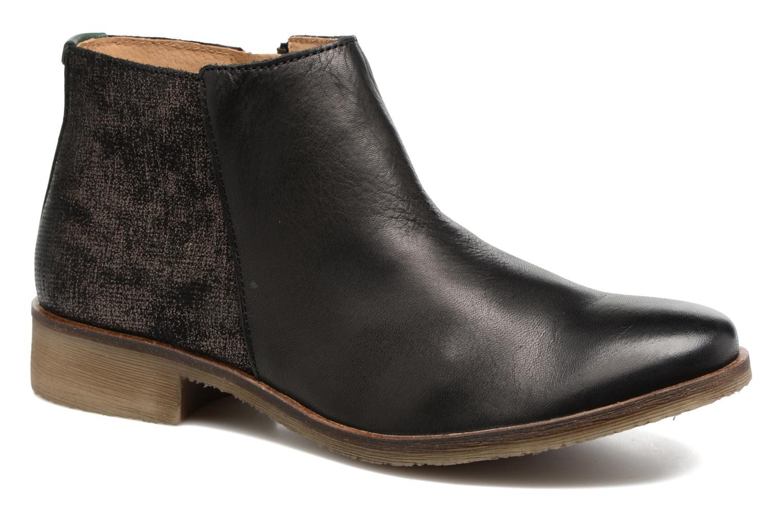 Bottines et boots Kickers LOWER Noir vue détail/paire