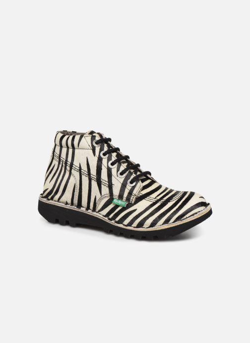 Bottines et boots Kickers NEORALLYE  Multicolore vue détail/paire