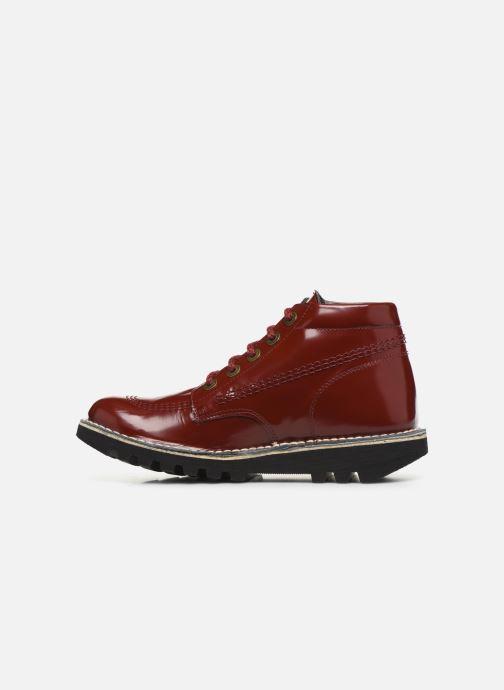 Stiefeletten & Boots Kickers NEORALLYE  rot ansicht von vorne