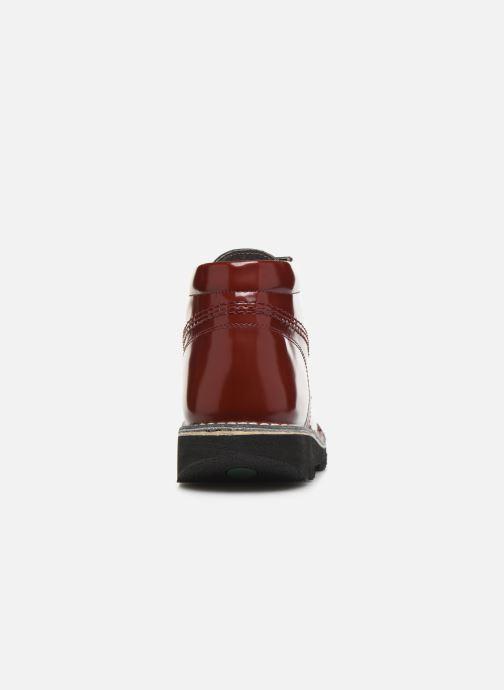 Bottines et boots Kickers NEORALLYE  Rouge vue droite