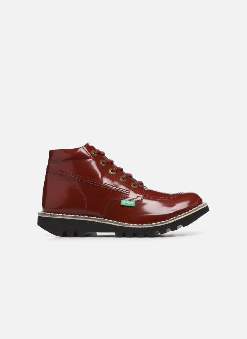 Bottines et boots Kickers NEORALLYE  Rouge vue derrière