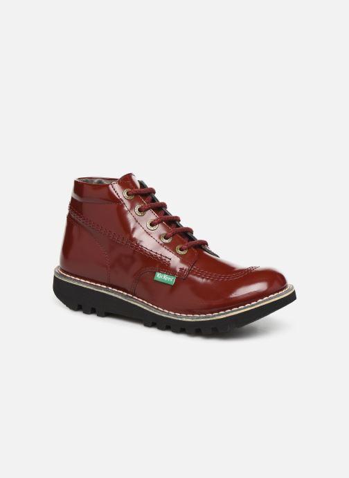 Bottines et boots Kickers NEORALLYE  Rouge vue détail/paire