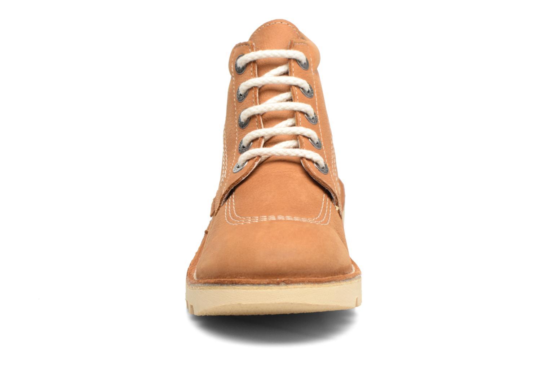 Bottines et boots Kickers NEORALLYE  Marron vue portées chaussures