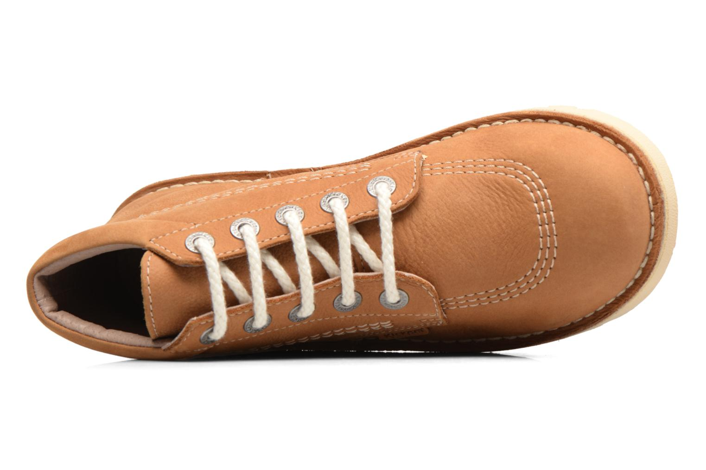 Bottines et boots Kickers NEORALLYE  Marron vue gauche