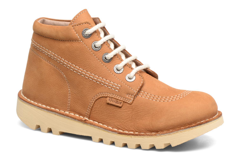 Bottines et boots Kickers NEORALLYE  Marron vue détail/paire