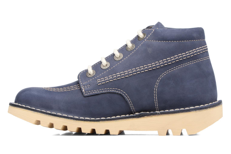 Bottines et boots Kickers NEORALLYE  Bleu vue face