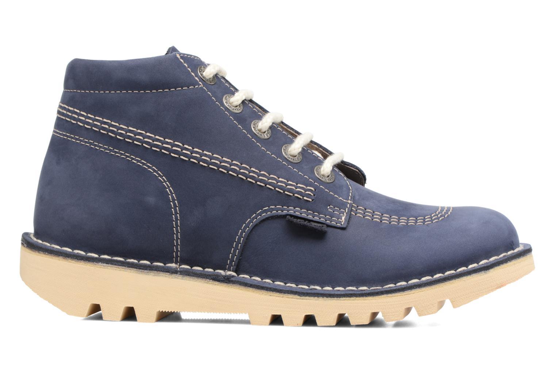Bottines et boots Kickers NEORALLYE  Bleu vue derrière
